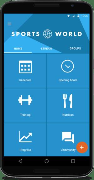 Custom App Homescreen