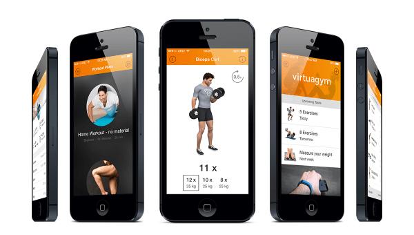 Image of fitness app