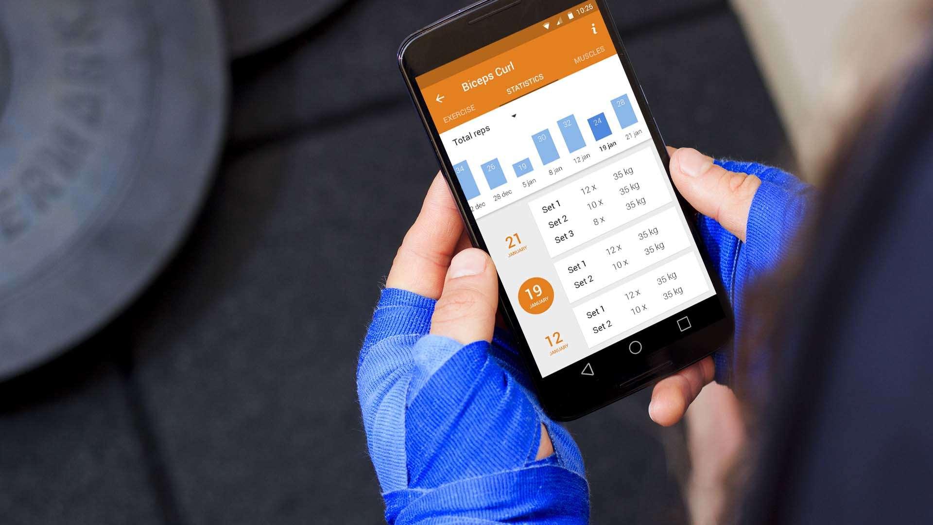 Virtuagym Personal Trainer App