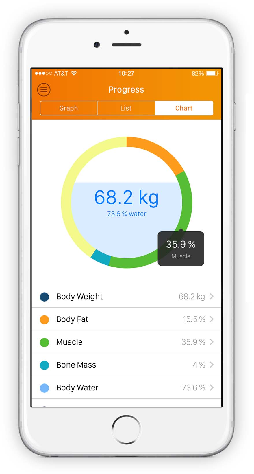 Virtuagym personal trainer app progression